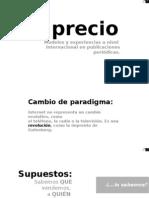 El precio. Modelos y experiencias a nivel internacional en publicaciones periódicas