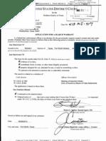 Teskey's Saddle Shop search warrant