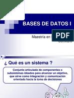 Bases de Datos i (Clase 1)
