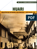 Huari - Boletín de Estudios Históricos y Sociales I 02 (CEHRA)