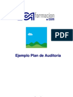 Ejemplo Plan de Auditoria Interna