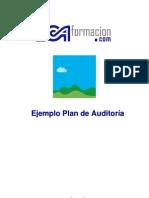 Ejemplo Plan de Auditoria Interna