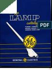GE 1953 Lamp Catalog