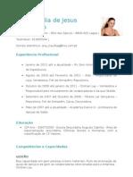 curriculo - Ana Gonçalves