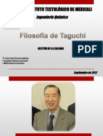Expocicion Gestion Filosofia d e Taguchi