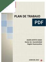 4. Plan de Trabajo