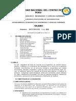 Silabo Gestion Empresarial AG-UNCP