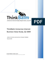 Immersive Business Value Study