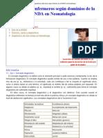 Diagnósticos enfermeros según dominios de la NANDA en Neonatología