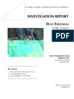 CSB_Dust Explosion Investigation Report