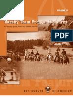 Varsity Team Program Features Volume 3
