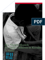 Pre Matric Hostels for Dalit Children in Kerala- A study