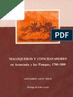 Maloqueros y conchavadores  en araucanía y las pampas 1700-1800