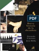 Caetano Gerardo - Breve Historia de La Dictadura (Uruguay)