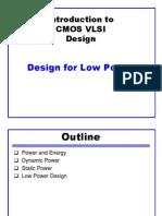 Lec 18 Low Power
