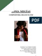Sonia Megias. Compositora siglos XX-XXI