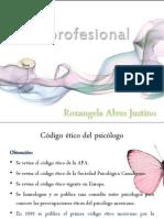 Ética profesional Rozangela Alves Justino