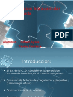 Coagulacion Intravascular Diseminada C.I.D