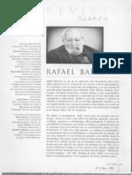Entrevista Rafael Baraona