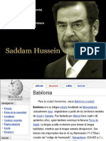 Recopilacion Saddam