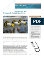 Dewpoint Compressed Air Application Note