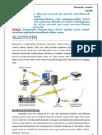 Bluetooth, IEEE 802.11, WIMAX