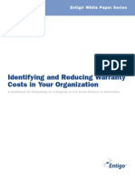 Cost of Warranty White Paper