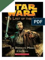 Star Wars - UdlJ 01 - Misión Desesperada