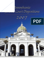 2007 Disposition Report