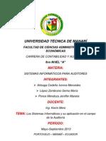 SISTEMA DE INFORMACIÓN, CAATS