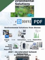Environmental Solutions -Dionex