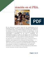 Comunicación en el PEA para blog