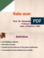 Kala-azar ( Leishmaniasis ) Symptoms, Signs, Diagnosis