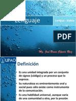 1° Lenguaje, lengua, habla