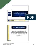 Interpretación OHSAS 18001_2007_16 Dic08