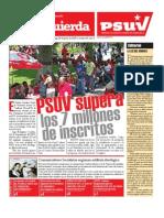 PSUV Supera Los 7 Millones de Inscritos