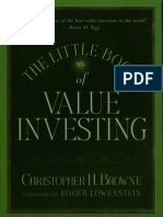 0470055898 Little Book of Value Investing