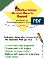 School Libraries Self-evaluation Stretfield