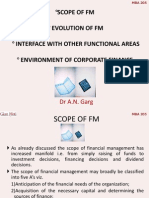 3_Scope, Evolution, Interface, Environment of Corp Fin
