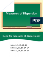 03 Measures of Dispersion