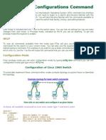 Configurations Command