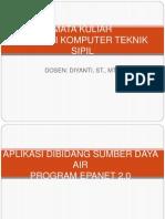 BAHAN NGAJAR EPANET 2.0