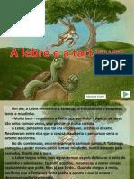 Fabula Esopo Lebre-tartaruga2