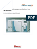 GC Ultra Thermo - Analyzer for the determination of Hydrocarbons and Hydrogen