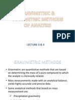 Chapter 9 & 10 Chamistry - Gravimetric Analysis & Volumetric Analysis.ppt