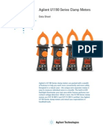 Agilent U1190 Series Clamp Meters Datasheets