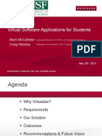 Virtual Software Applications for Students (166231110)