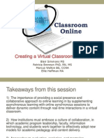 Creating the Virtual Classroom  (166231454)