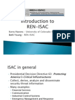 Introduction to the Research and Education Networking Information Sharing and Analysis Center (REN-ISAC) (166231516)