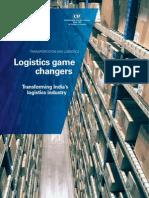 Logistics Game Changers Transforming India Logistics Industry 2013